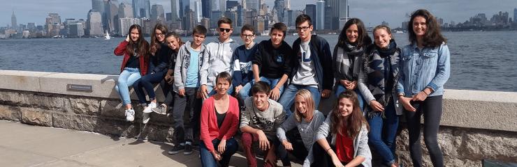 élèves à l'étranger